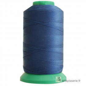 Fusette fil ONYX N°60 - 600 ml - Bleu 2829 - Mercerie