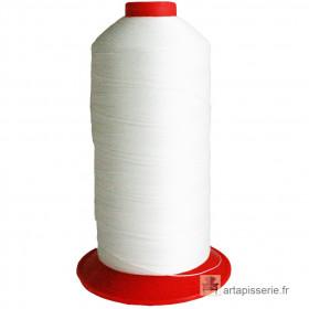 Bobine de fil Blanc SERAFIL N°20 - 2500 ml - 1000 - Mercerie