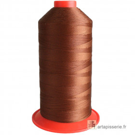 Bobine de fil Marron Clair SERAFIL N°20 - 2500 ml - 173 - Mercerie