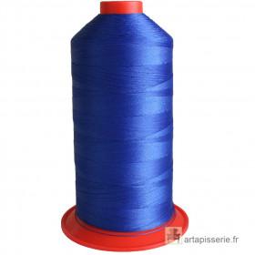 Bobine de fil Bleu SERAFIL N°20 - 2500 ml - 1078 - Mercerie