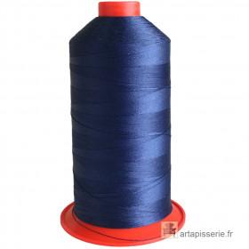 Bobine de fil Bleu Marine SERAFIL N°20 - 2500 ml - 825 - Mercerie