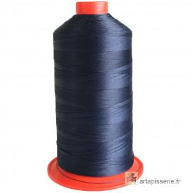 Bobine de fil Bleu Navy SERAFIL N°20 - 2500 ml - 821 - Mercerie