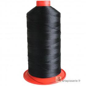 Bobine de fil Noir SERAFIL N°20 - 2500 ml - 4000 - Mercerie