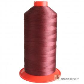 Bobine de fil Rouge vin SERAFIL N°20 - 2500 ml - 166 - Mercerie