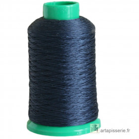 Fusette fil ONYX N°40 - 400 ml - Bleu foncé 2291 - Mercerie