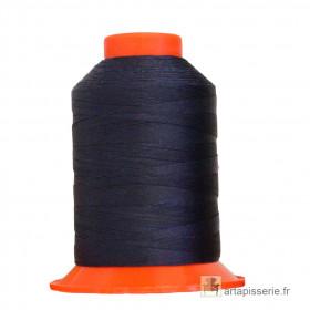 Fusette de fil Bleu Navy SERAFIL N°20 - 600 ml - 821 - Mercerie