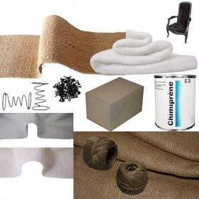 Kit Voltaire Mousse Ressort Confort - Souple / Ferme - Fournitures tapissier