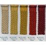 Cartisane 50 m en 40 coloris - l'unité - Passementerie