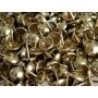 1000 Clous tapissier Laitonné Perle Fer 11,5 mm