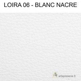 Simili Cuir Froca - Loira 06 Blanc nacré au mètre