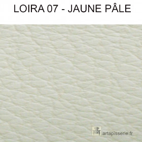 Simili Cuir Froca - Loira 07 Jaune pâle au mètre