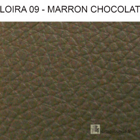 Simili Cuir Froca - Loira 09 Marron chocolat au mètre
