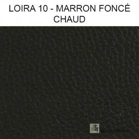 Simili Cuir Froca - Loira 10 Marron foncé chaud au mètre