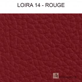 Simili Cuir Froca - Loira 14 Rouge au mètre