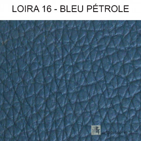 Simili Cuir Froca - Loira 16 Bleu pétrole au mètre