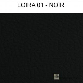 Simili Cuir Froca - Loira 01 Noir au mètre