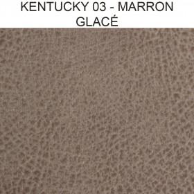 Simili Cuir Froca - Kentucky 03 Marron Glacé, au mètre