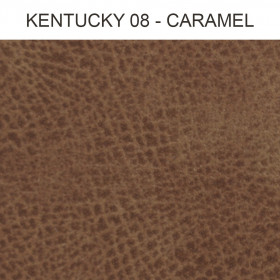 Simili Cuir Froca - Kentucky 08 Caramel, au mètre