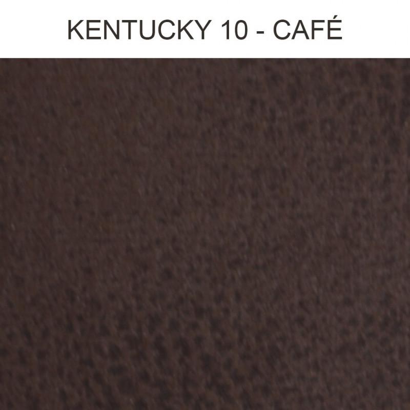 simili cuir froca kentucky 01 marron noir au m tre. Black Bedroom Furniture Sets. Home Design Ideas