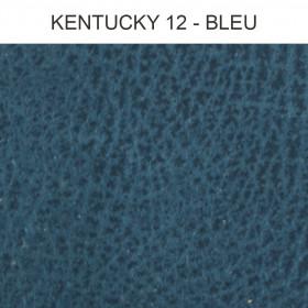 Simili Cuir Froca - Kentucky 12 Bleu, au mètre