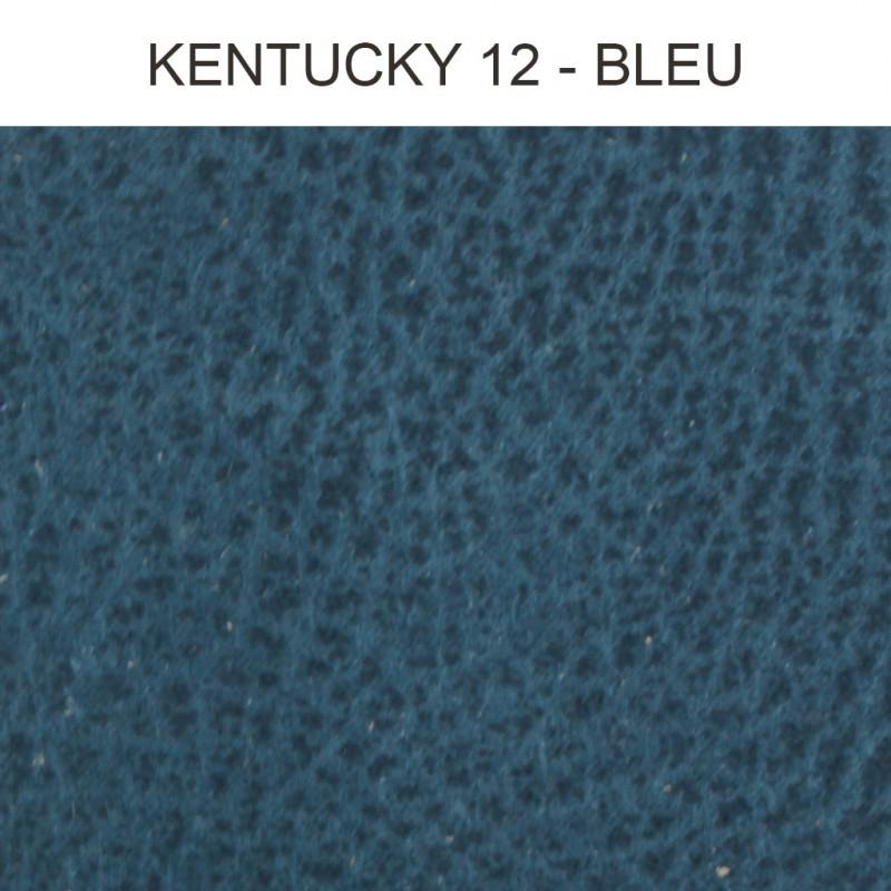 simili cuir froca kentucky 12 bleu au m tre. Black Bedroom Furniture Sets. Home Design Ideas