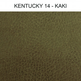 Simili Cuir Froca - Kentucky 14 Kaki, au mètre