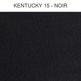Simili Cuir Froca - Kentucky 15 Noir, au mètre