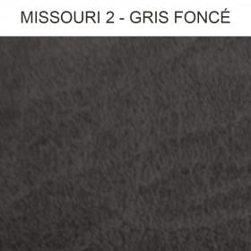 Simili Cuir Froca - Missouri 02 Gris Foncé au mètre à 29,90 €