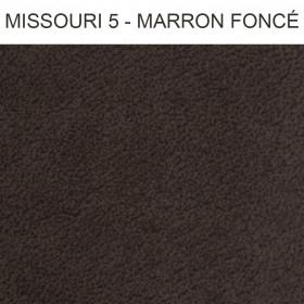 Simili Cuir Froca - Missouri 05 Marron Foncé au mètre à 29,90 €