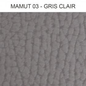 Simili Cuir Froca - Mamut 03 Gris Clair, au mètre