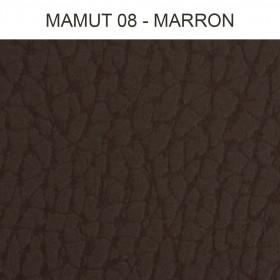 Simili Cuir Froca - Mamut 08 Marron, au mètre