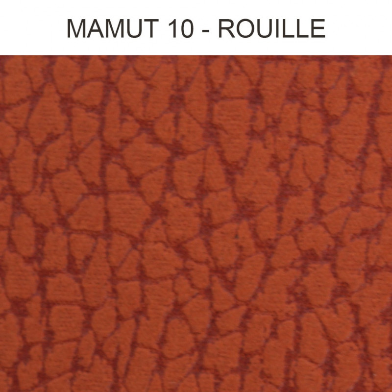 Simili Cuir Froca - Mamut 10 Rouille, au mètre