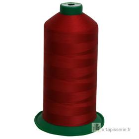 Bobine de fil ONYX N°60 (121) Rouge foncé 2455 - 6000 ml - Mercerie