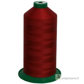 Bobine de fil ONYX N°60 (121) Rouge foncé 642 - 6000 ml - Mercerie