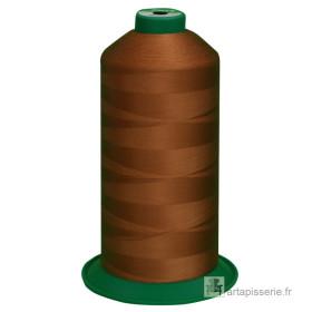 Bobine de fil ONYX N°60 (121) Beige Foncé 174 - 6000 ml - Mercerie