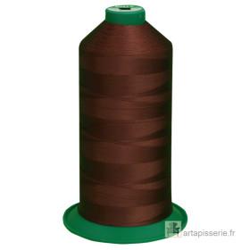 Bobine de fil ONYX N°60 (121) Marron 185 - 6000 ml - Mercerie