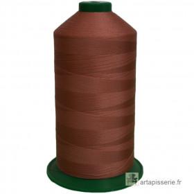 Bobine de fil ONYX N°60 (121) Marron 834 - 6000 ml - Mercerie