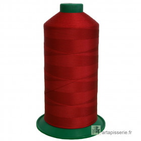 Bobine de fil ONYX N°60 (121) Rouge 510 - 6000 ml - Mercerie