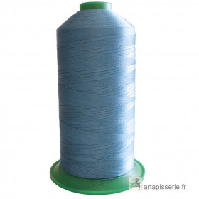 Bobine de fil ONYX N°30 (61) Bleu 351 - 2500 ml - Mercerie
