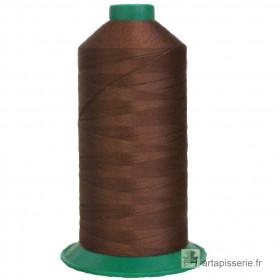 Bobine de fil ONYX N°30 (61) Marron - 2500 ml - 185 - Mercerie