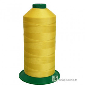 Bobine de fil ONYX N°60 (121) Jaune 3361 - 6000 ml - Mercerie
