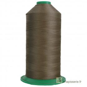 Bobine de fil ONYX N°60 (121) Beige foncé 269 - 6000 ml - Mercerie