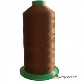 Bobine de fil ONYX N°60 (121) Marron 263 - 6000 ml - Mercerie