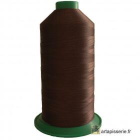 Bobine de fil ONYX N°60 (121) Marron 264 - 6000 ml - Mercerie