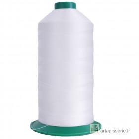 Bobine de fil ONYX N°60 (121) Blanc 2000 - 6000 ml - Mercerie