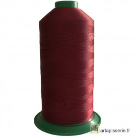 Bobine de fil ONYX N°60 (121) Rouge foncé 109 - 6000 ml - Mercerie