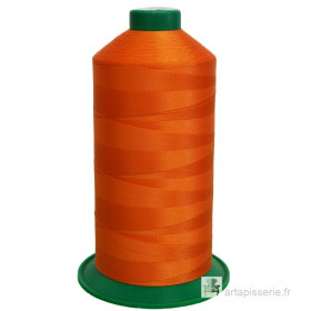 Bobine de fil ONYX N°60 (121) Orange 3516 - 6000 ml - Mercerie