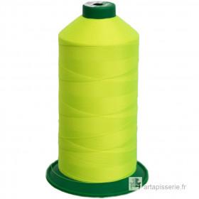 Bobine de fil ONYX N°30 (61) Jaune fluo - 2500 ml - 1426 - Mercerie