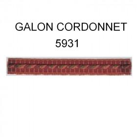 Galon cordonnet 12 mm 128 coloris le mètre