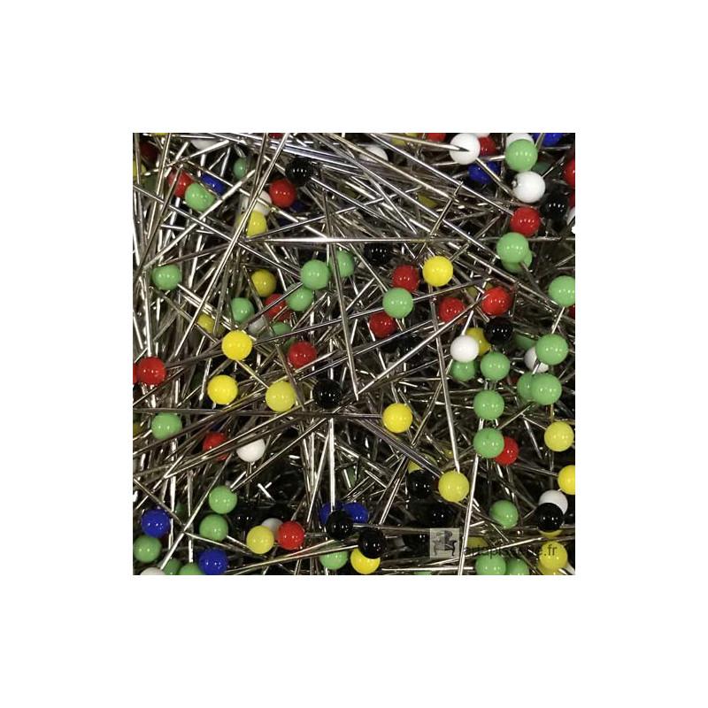 Epingles tête émail 48 mm Osborne - 1000 pièces - Outils tapissier